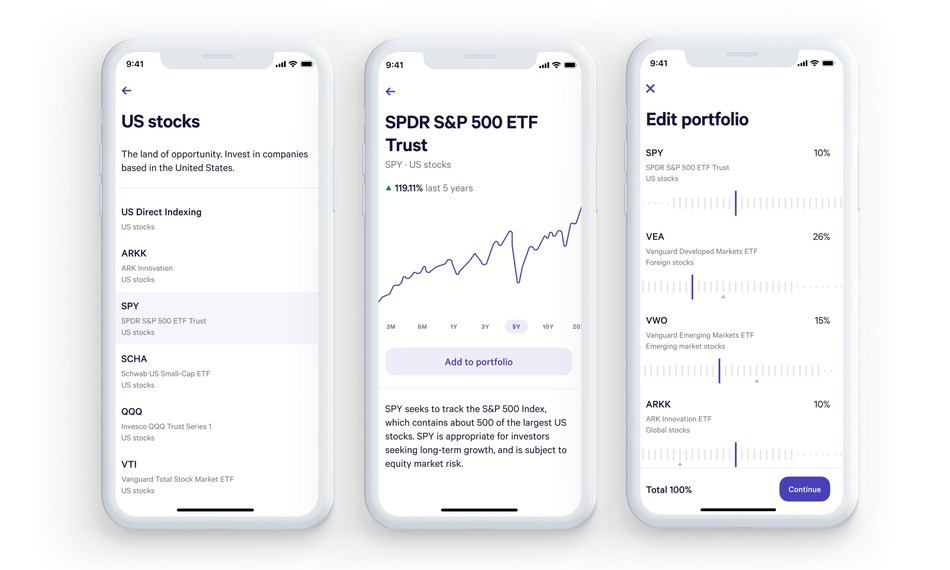 how to build an investment app