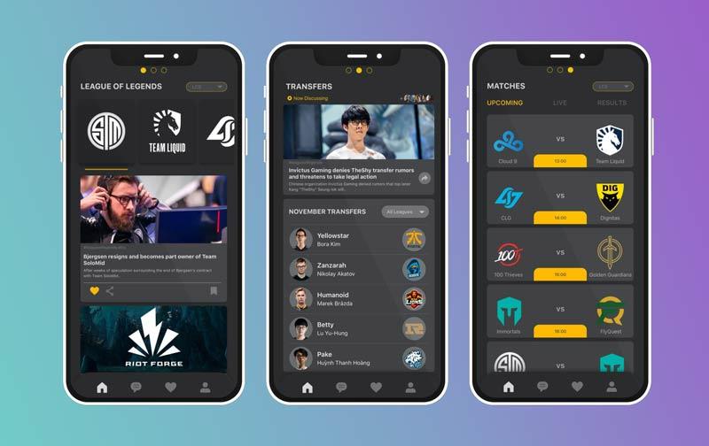 esports app development