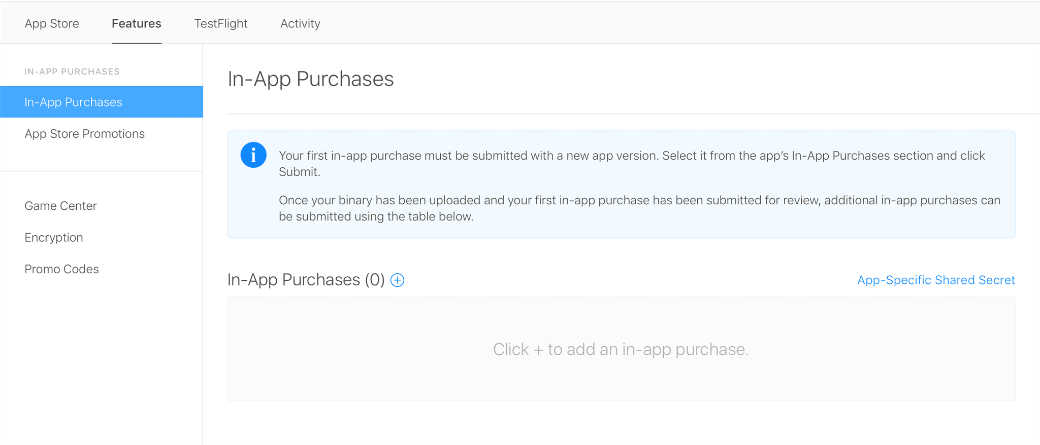 set up in-app purchases