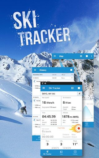 best ski map app