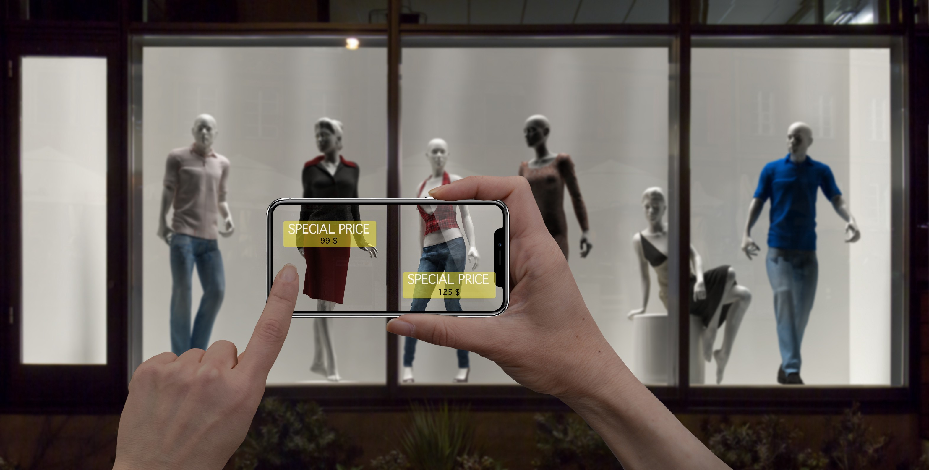 augmented reality mobile app retail
