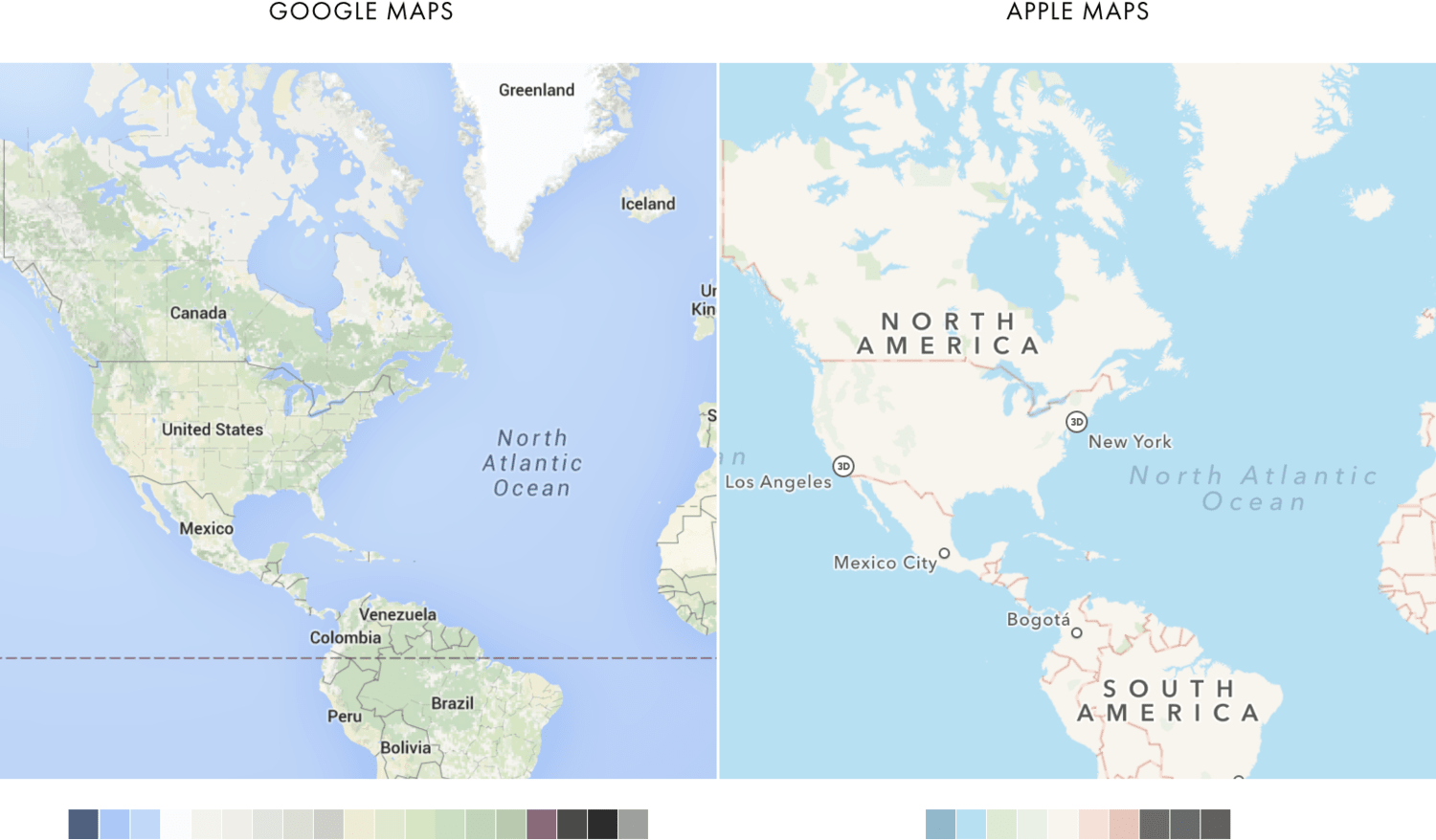 Google Maps vs Apple Maps: best choice for your mobile