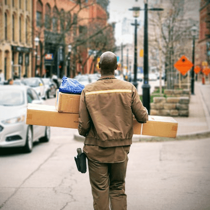 parcels delivery company