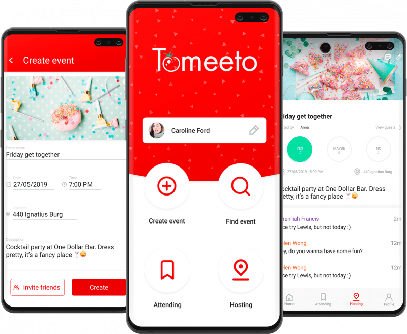 tomeeto app