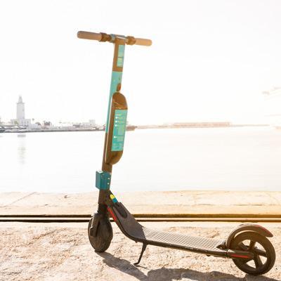 kick scooter sharing startup