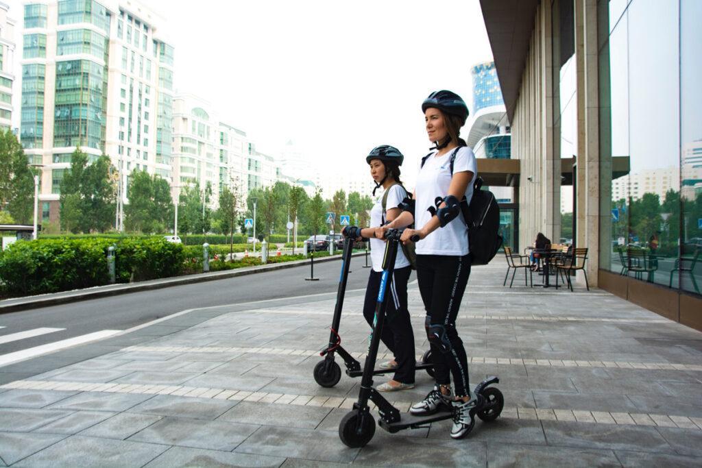 escooter sharing