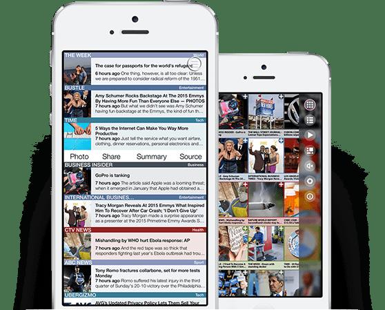 Custom social network application