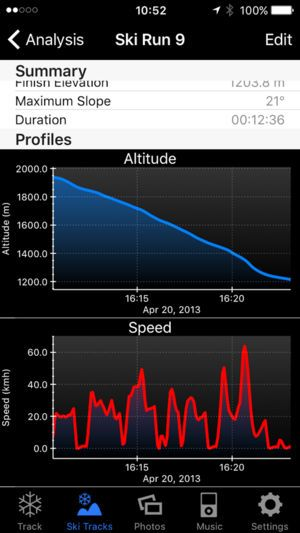 best ski tracking app
