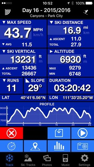 best app to track skiing