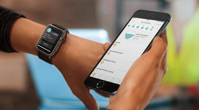 wearable fitness app