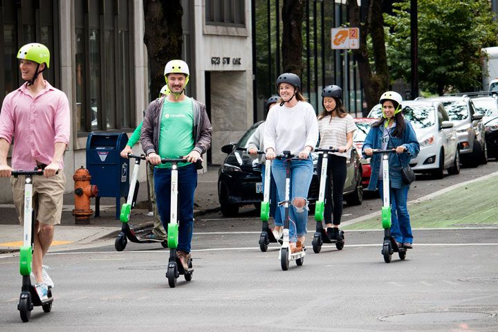 starting a scooter share business