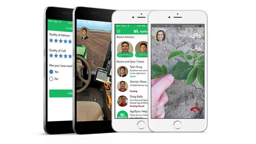 mobile app for farmers features video