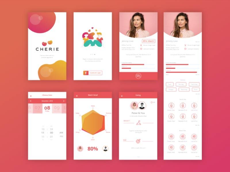design dating app