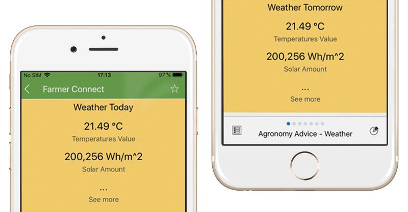 weather forecast agriculture mobile app