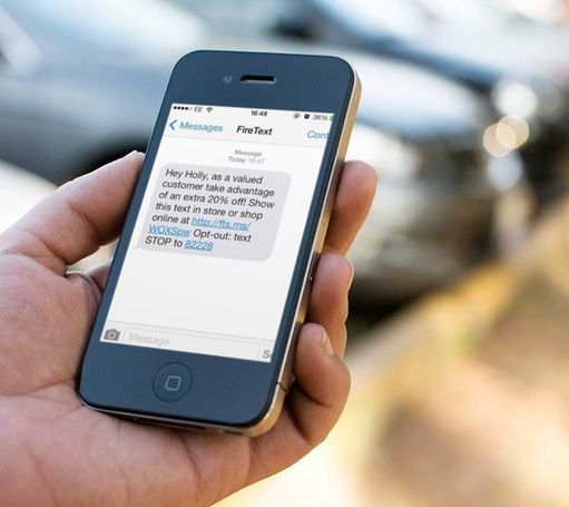 marketing push notification sms