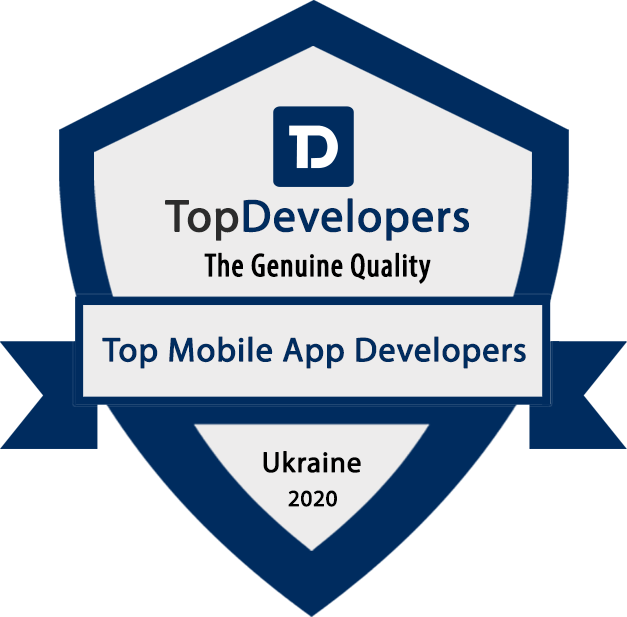 Top mobile app developer badge
