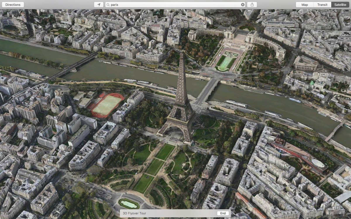 flyover feature apple map