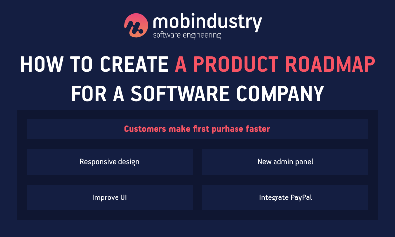 how to create a product roadmap