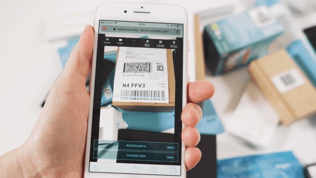 barcode retail app