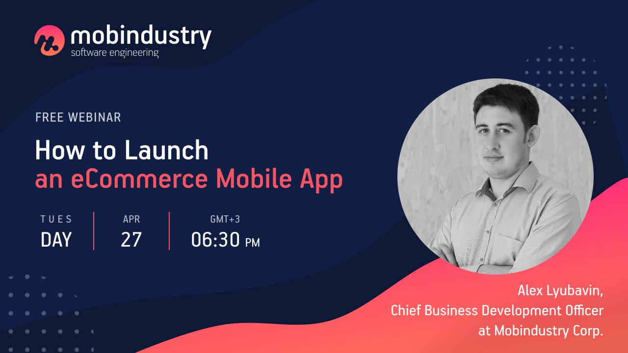 Webinar ecommerce app developmet