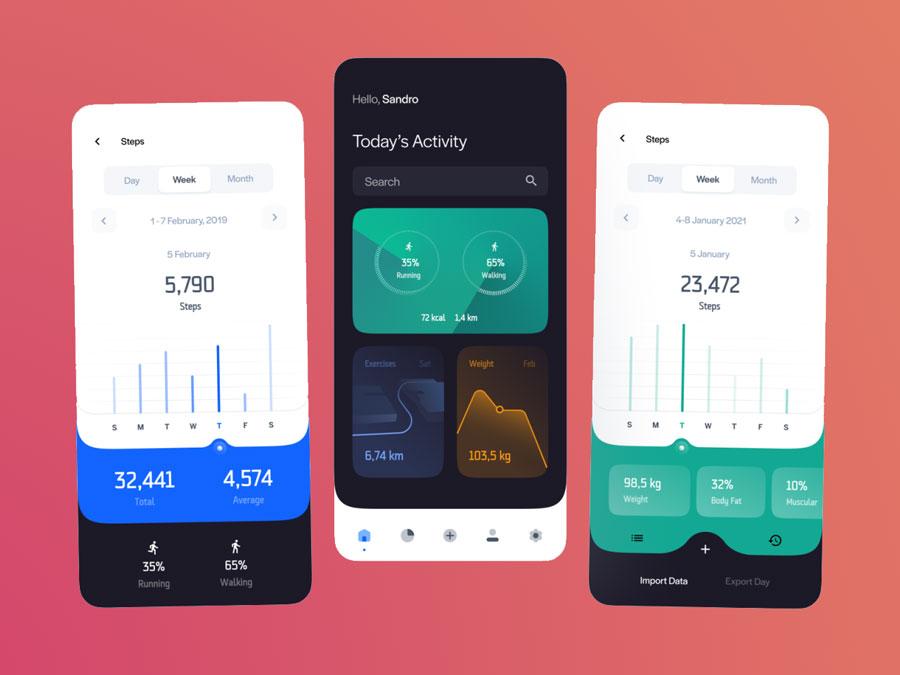 gear fit 2 app development