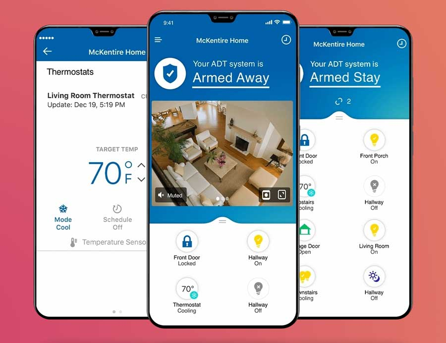 home security mobile phone apps