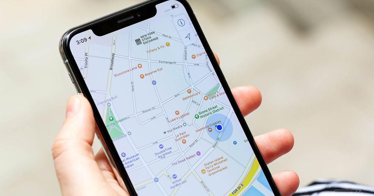 doctor's app map integration