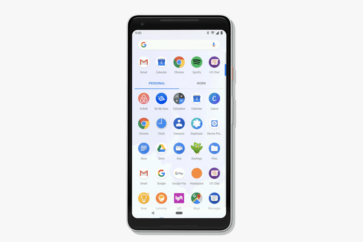 android p mobile app