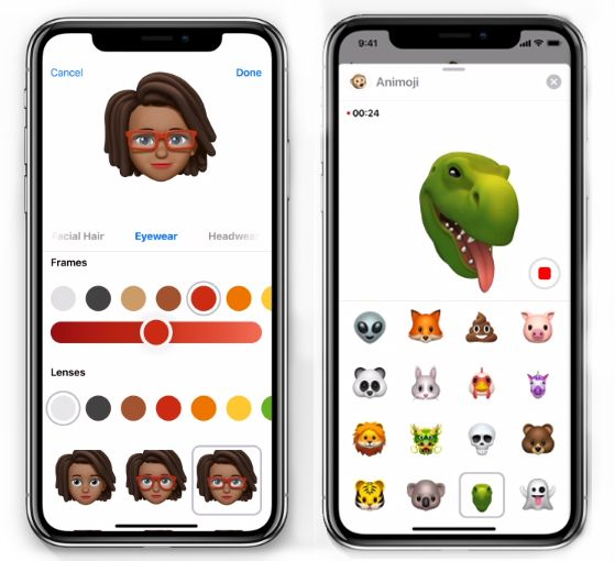 memoji animoji iphone ios 12