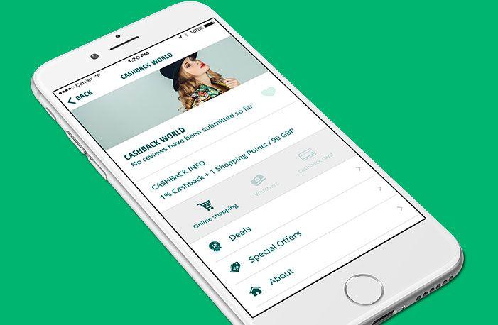 mobile banking cashback