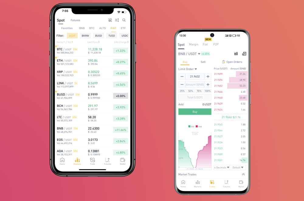 create an investment app