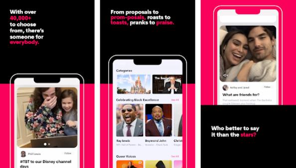 app to book celebrities
