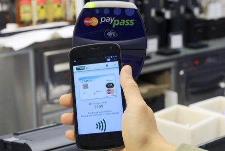 contactless payments mobile app retail