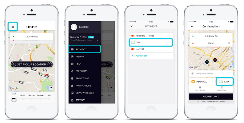 payment gateway ridesharing apps