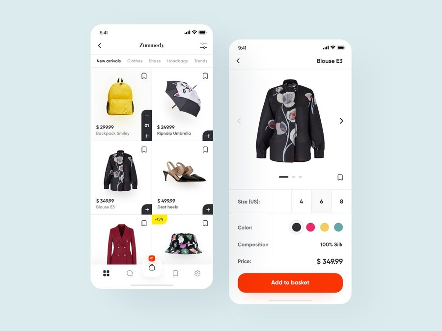 how to make your own shopping app