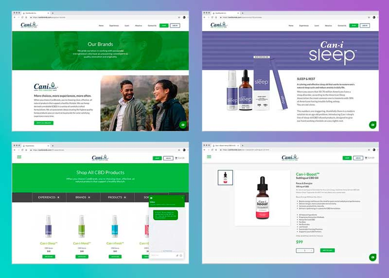 cbd marketplace design