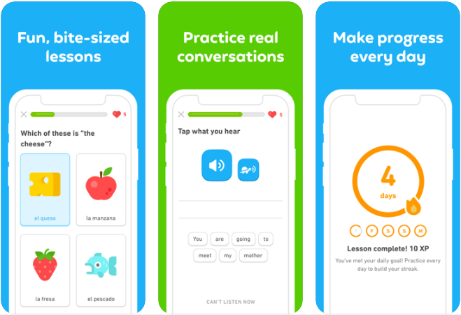 how to build mobile app for learning language