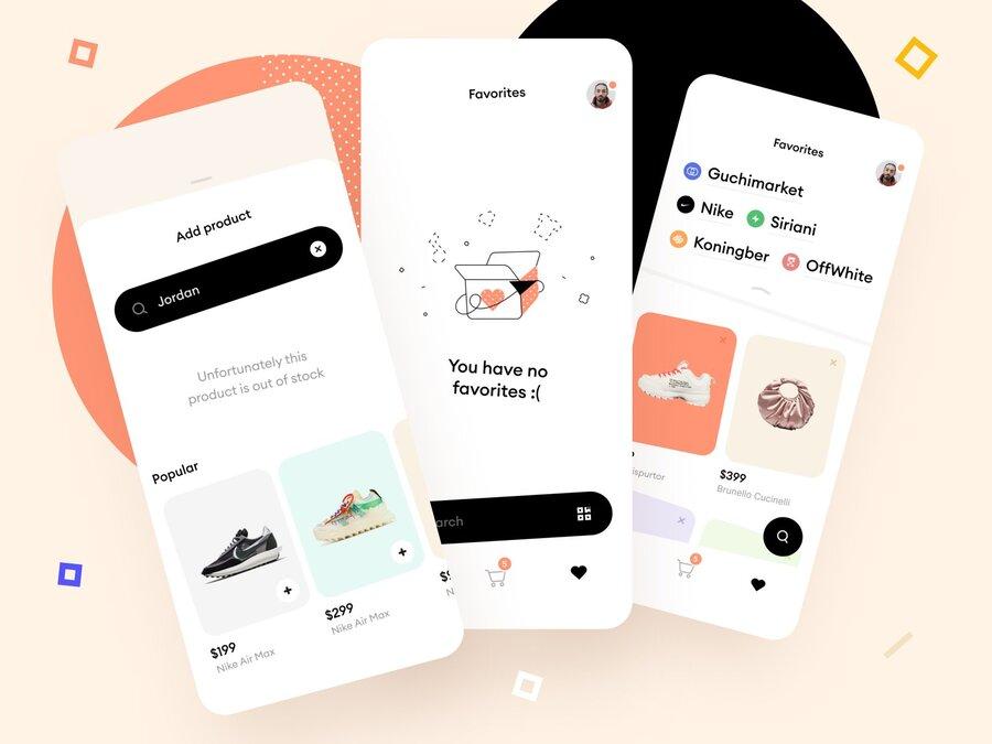 make a online shopping app