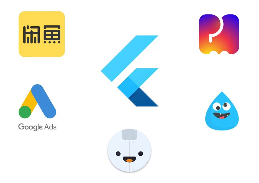 apps developed in flutter