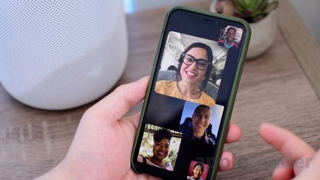 facetime ios 12 mobile group call