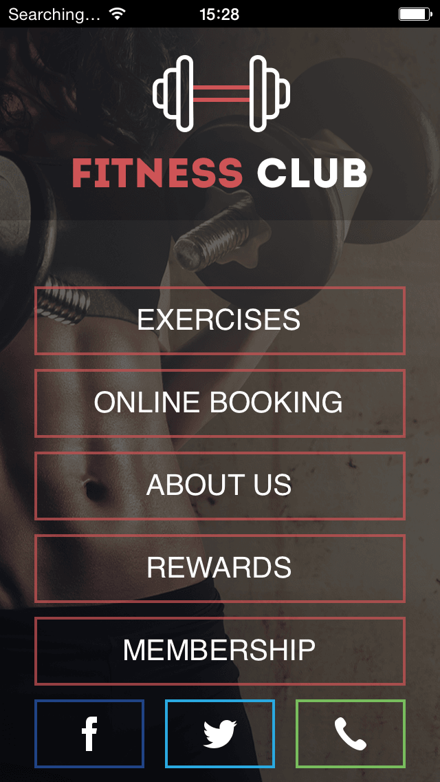 mobile fitness app for gyms
