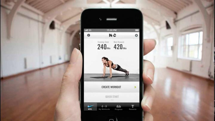 video streaming fitness app