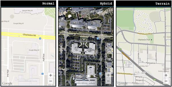 google maps into a mobile app