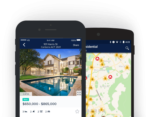 how to create a real estate mobile app