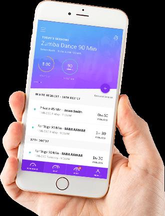 zumba class app