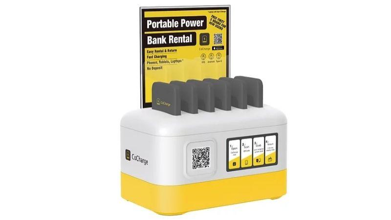 power bank sharing station