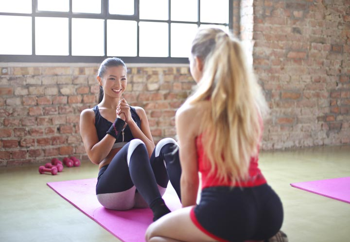 mobile app personal trainer