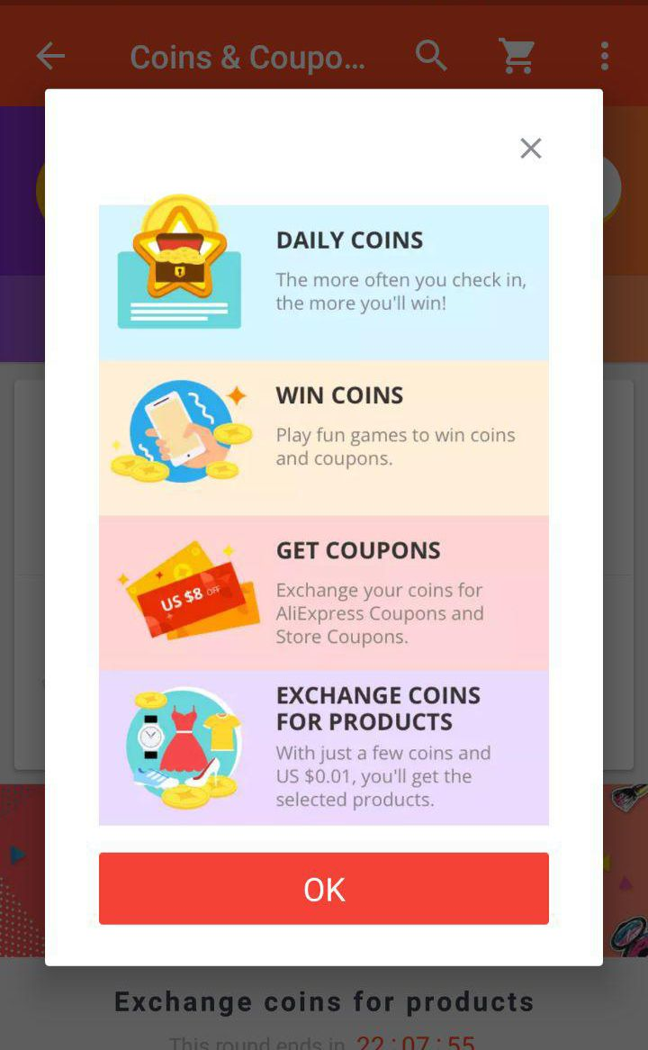 aliexpress gamification