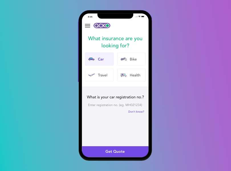 mobile app for insurance companies