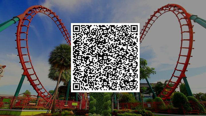 qr code scanner amusement park